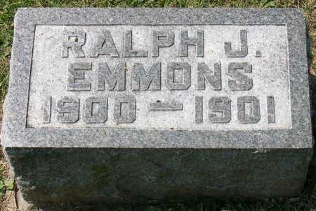 EMMONS, RALPH J. - Linn County, Iowa | RALPH J. EMMONS