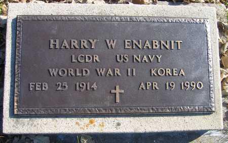 ENABNIT, HARRY W. - Linn County, Iowa | HARRY W. ENABNIT