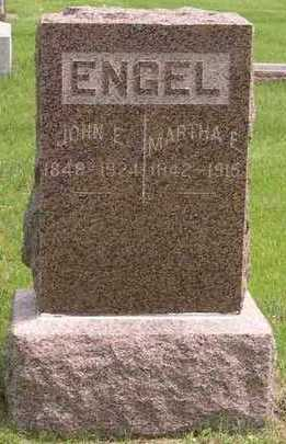 ENGEL, JOHN E. - Linn County, Iowa | JOHN E. ENGEL