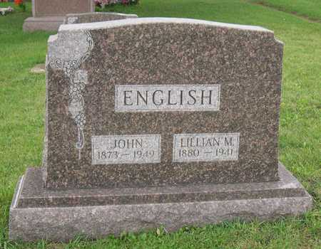 ENGLISH, JOHN - Linn County, Iowa | JOHN ENGLISH