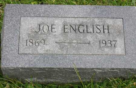 ENGLISH, JOE - Linn County, Iowa | JOE ENGLISH