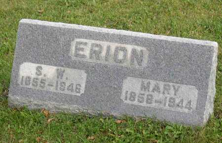 ERION, MARY - Linn County, Iowa | MARY ERION