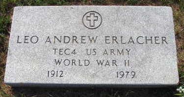 ERLACHER, LEO ANDREW - Linn County, Iowa | LEO ANDREW ERLACHER
