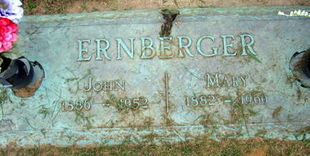 ERNBERGER, MARY - Linn County, Iowa | MARY ERNBERGER