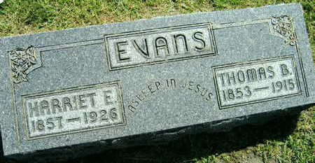 EVANS, THOMAS B. - Linn County, Iowa | THOMAS B. EVANS