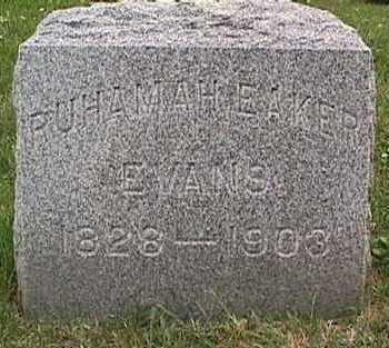 EAKER EVANS, RUHAMAH - Linn County, Iowa | RUHAMAH EAKER EVANS