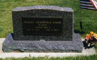 EVANS, ROBERT GRASSFIELD - Linn County, Iowa | ROBERT GRASSFIELD EVANS