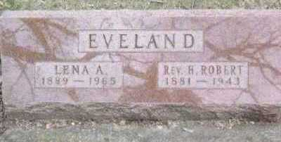 EVELAND, REV. H. ROBERT - Linn County, Iowa | REV. H. ROBERT EVELAND