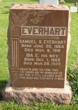 EVERHART, IDA E. - Linn County, Iowa | IDA E. EVERHART