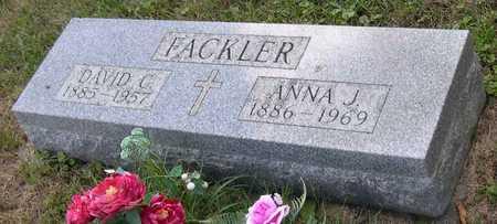 FACKLER, ANNA J. - Linn County, Iowa | ANNA J. FACKLER