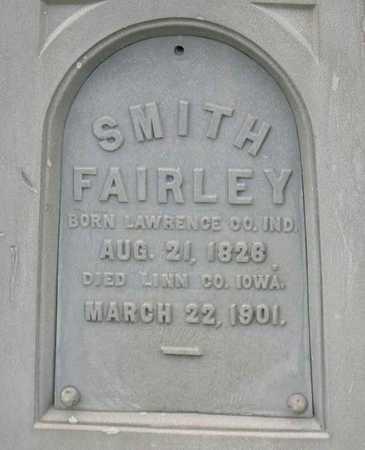 FAIRLEY, SMITH - Linn County, Iowa | SMITH FAIRLEY