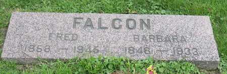 FALCON, FRED - Linn County, Iowa | FRED FALCON