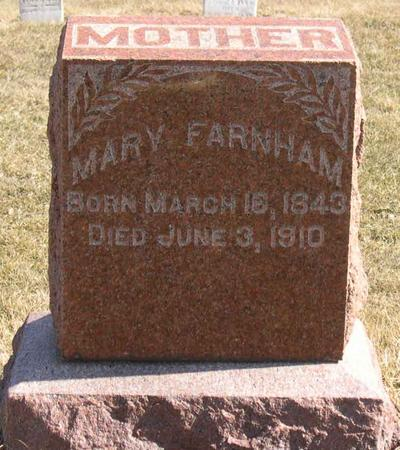 FARNHAM, MARY - Linn County, Iowa | MARY FARNHAM