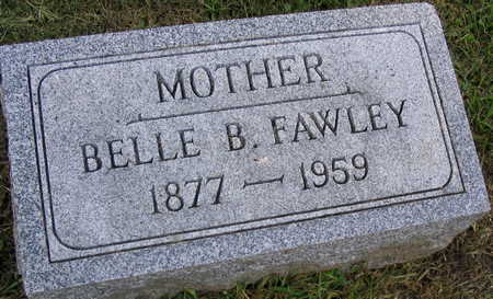 FAWLEY, BELLE B. - Linn County, Iowa | BELLE B. FAWLEY