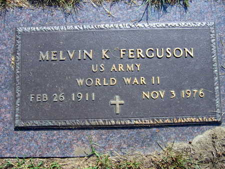 FERGUSON, MELVIN K. - Linn County, Iowa | MELVIN K. FERGUSON