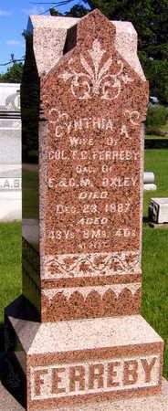 FERREBY, CYNTHIA A. - Linn County, Iowa | CYNTHIA A. FERREBY