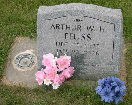 FEUSS, BABY ARTHUR W. H. - Linn County, Iowa | BABY ARTHUR W. H. FEUSS