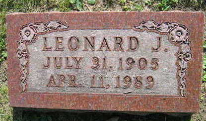 FILIPY, LEONARD J. - Linn County, Iowa | LEONARD J. FILIPY