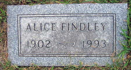 FINDLEY, ALICE - Linn County, Iowa | ALICE FINDLEY