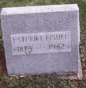FISHEL, ESTHER F. - Linn County, Iowa | ESTHER F. FISHEL