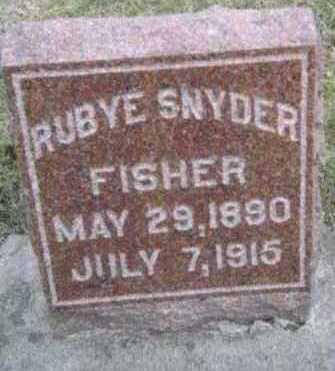 FISHER, RUBYE - Linn County, Iowa | RUBYE FISHER