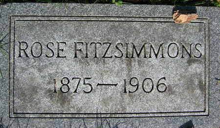 FITZSIMMONS, ROSE - Linn County, Iowa | ROSE FITZSIMMONS