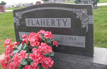FLAHERTY, ALVINA - Linn County, Iowa | ALVINA FLAHERTY