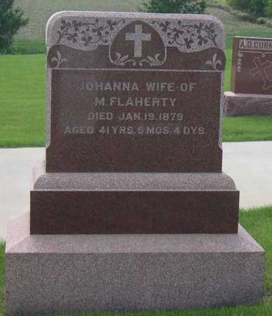 FLAHERTY, JOHANNA - Linn County, Iowa | JOHANNA FLAHERTY