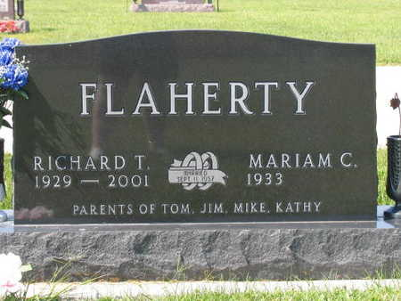 FLAHERTY, RICHARD T. - Linn County, Iowa | RICHARD T. FLAHERTY