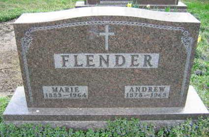 FLENDER, MARIE - Linn County, Iowa | MARIE FLENDER
