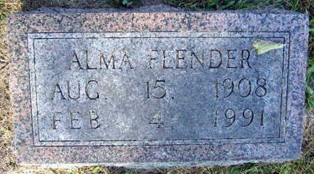 FLENDER, ALMA - Linn County, Iowa | ALMA FLENDER