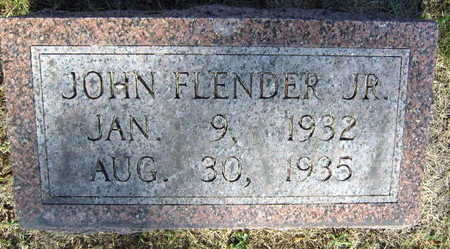 FLENDER, JOHN JR. - Linn County, Iowa | JOHN JR. FLENDER