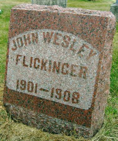 FLICKINGER, JOHN WESLEY - Linn County, Iowa | JOHN WESLEY FLICKINGER