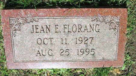 FLORANG, JEAN E. - Linn County, Iowa | JEAN E. FLORANG