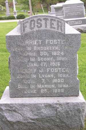 FOSTER, HARRIET - Linn County, Iowa | HARRIET FOSTER