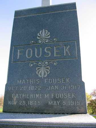 FOUSEK, MATHIS - Linn County, Iowa | MATHIS FOUSEK