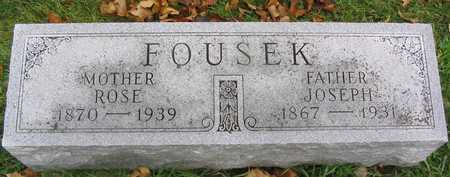 FOUSEK, ROSE - Linn County, Iowa | ROSE FOUSEK