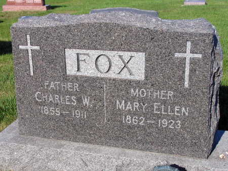 FOX, CHARLES W. - Linn County, Iowa | CHARLES W. FOX