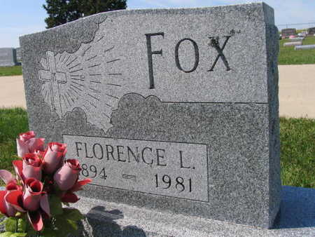 FOX, FLORENCE L. - Linn County, Iowa | FLORENCE L. FOX