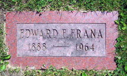 FRANA, EDWARD F. - Linn County, Iowa | EDWARD F. FRANA