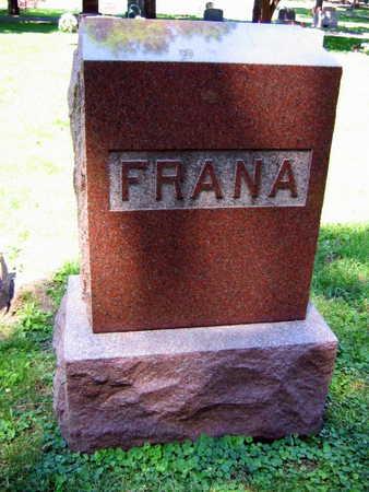 FRANA, FAMILY STONE - Linn County, Iowa | FAMILY STONE FRANA