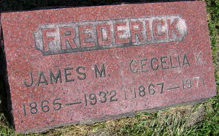 FREDERICK, JAMES M. - Linn County, Iowa | JAMES M. FREDERICK