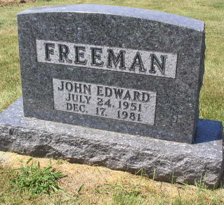 FREEMAN, JOHN EDWARD - Linn County, Iowa | JOHN EDWARD FREEMAN