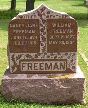 FREEMAN, WILLIAM - Linn County, Iowa | WILLIAM FREEMAN
