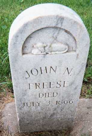 FREESE, JOHN N. - Linn County, Iowa | JOHN N. FREESE