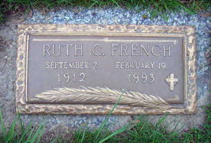 FRENCH, RUTH C. - Linn County, Iowa | RUTH C. FRENCH