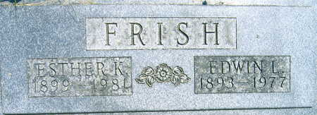 FRISH, ESTHER K. - Linn County, Iowa | ESTHER K. FRISH
