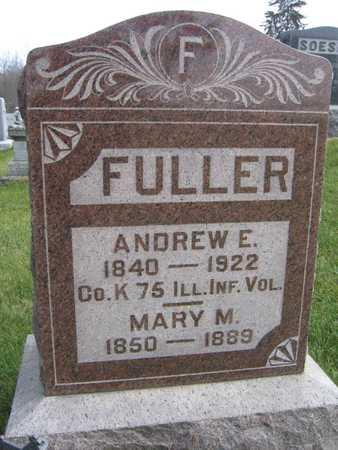 FULLER, ANDREW E. - Linn County, Iowa | ANDREW E. FULLER