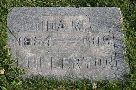 FULLERTON, IDA M. - Linn County, Iowa | IDA M. FULLERTON