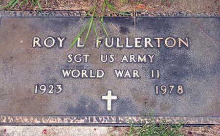 FULLERTON, ROY L. - Linn County, Iowa | ROY L. FULLERTON